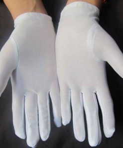 Gants blancs scout guide