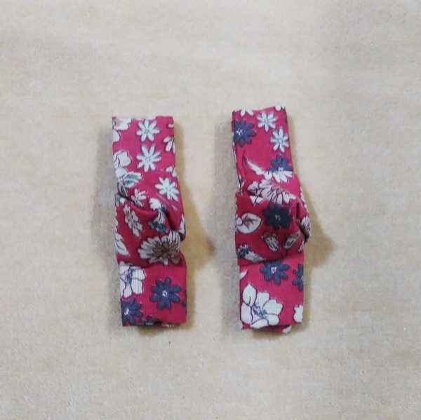 barrettes liberty bordeaux